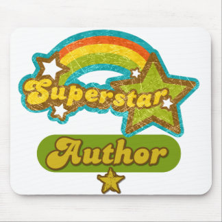 Superstar Author Mouse Pad