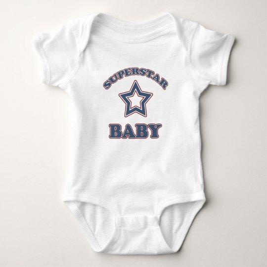 Superstar Baby Baby Bodysuit