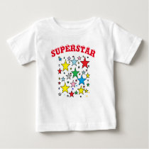 Superstar Baby T-shirt