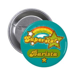 Superstar Barista Pin