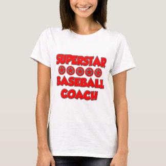 Superstar Baseball Coach T-Shirt