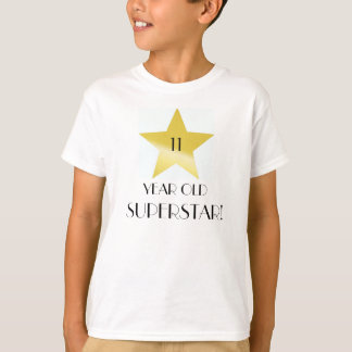SUPERSTAR BIRTHDAY / AGE DESIGN T-Shirt