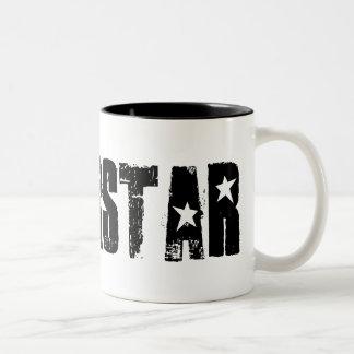Superstar black mug