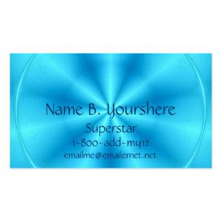 Superstar Blueberry Color Business Card