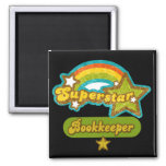Superstar Bookkeeper Fridge Magnet