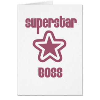 Superstar Boss Card