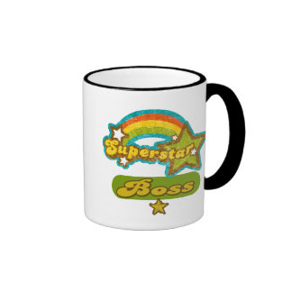 Superstar Boss Ringer Coffee Mug