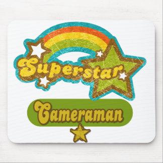 Superstar Cameraman Mousepads