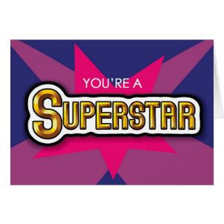 SuperStar Card