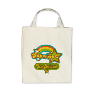 Superstar Case Assistant Tote Bags