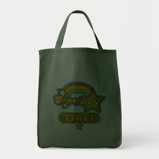 Superstar Chef Canvas Bags