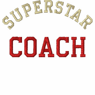 Superstar Coach Embroidered Hooded Sweatshirt