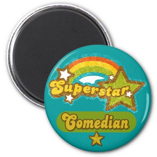 Superstar Comedian Refrigerator Magnet