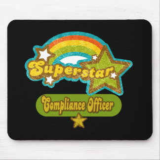 Superstar Compliance Officer Mouse Pad