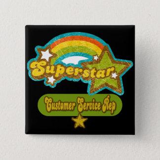 Superstar Customer Service Rep Button