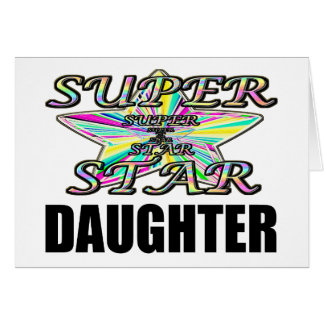 Superstar Daughter Card