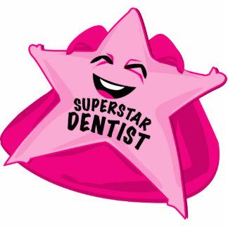 superstar dentist funny photo  sculpture! standing photo sculpture