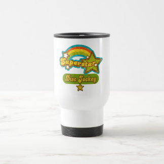 Superstar Disc Jockey Travel Mug