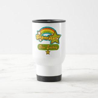 Superstar Disc Jockey Travel Mug
