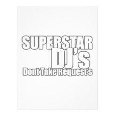 "Superstar DJ 8.5"" X 11"" Flyer"