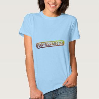 Superstar DJ - Disc Jockey, DJing, Music DJ Tee Shirt