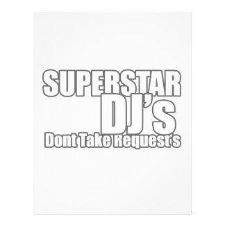 Superstar DJ Flyers