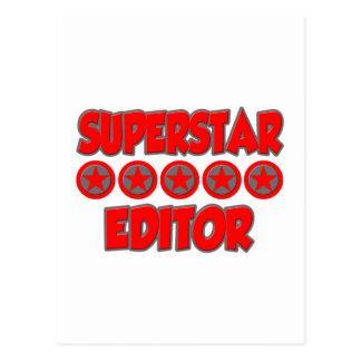 Superstar Editor Postcard