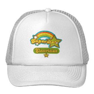 Superstar Electrician Mesh Hats
