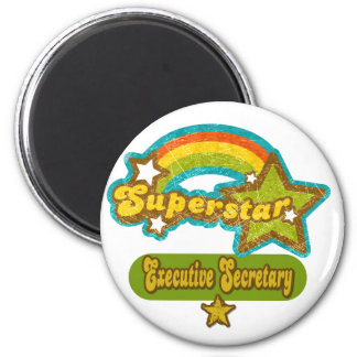 Superstar Executive Secretary 2 Inch Round Magnet