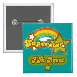 Superstar FBI Agent Pin