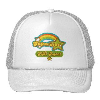 Superstar FBI Agent Hat