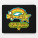 Superstar FBI Agent Mouse Pad