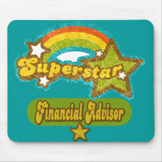 Superstar Financial Advisor Mouse Pad