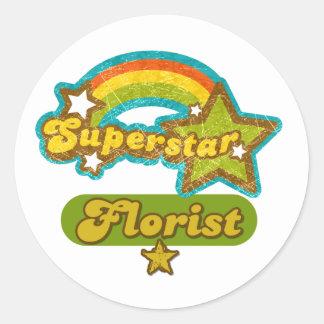 Superstar Florist Sticker