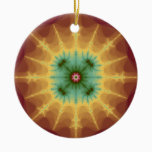 Superstar - Fractal Art Ceramic Ornament