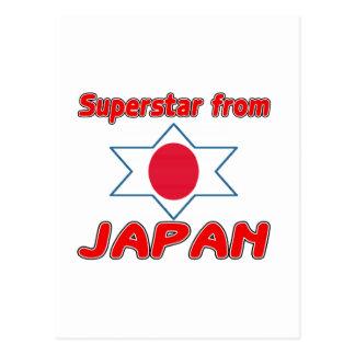 Superstar from Japan Postcard