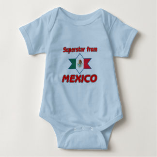 Superstar from Mexico Baby Bodysuit