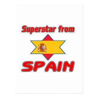 Superstar from Spain Postcard