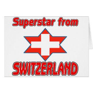 Superstar from Switzerland Card