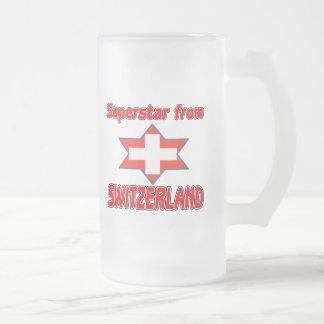 Superstar from Switzerland Coffee Mug