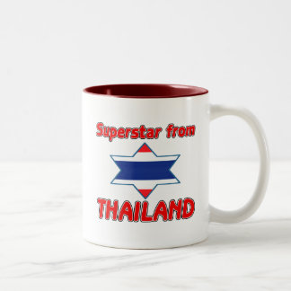 Superstar from Thailand Two-Tone Coffee Mug