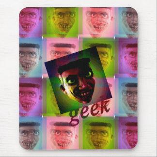Superstar geek mouse pad