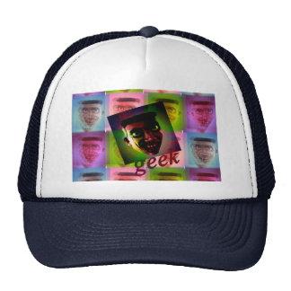 superstar geek trucker hat