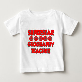 Superstar Geography Teacher Baby T-Shirt