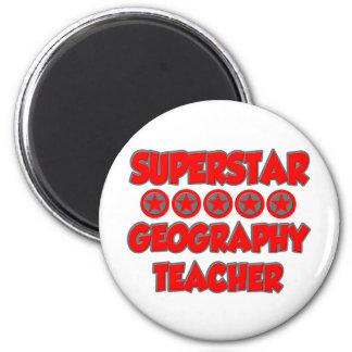 Superstar Geography Teacher Refrigerator Magnet