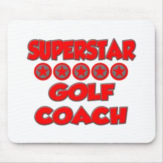 Superstar Golf Coach Mouse Pad