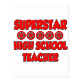 Superstar High School Teacher Postcard