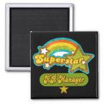 Superstar HR Manager Fridge Magnet