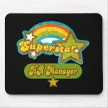 Superstar HR Manager Mouse Pads