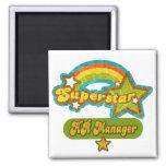 Superstar HR Manager Refrigerator Magnet